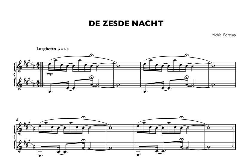 Michiel Borstlap - De zesde nacht (download)